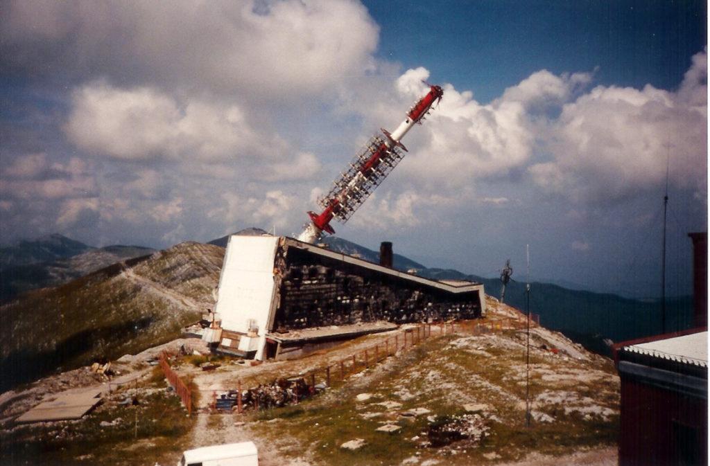 Ruiny na Bjelasnicy - centrum komunikacyjne