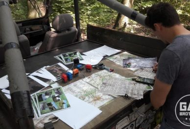 Mapy i scenariusz gry terenowej