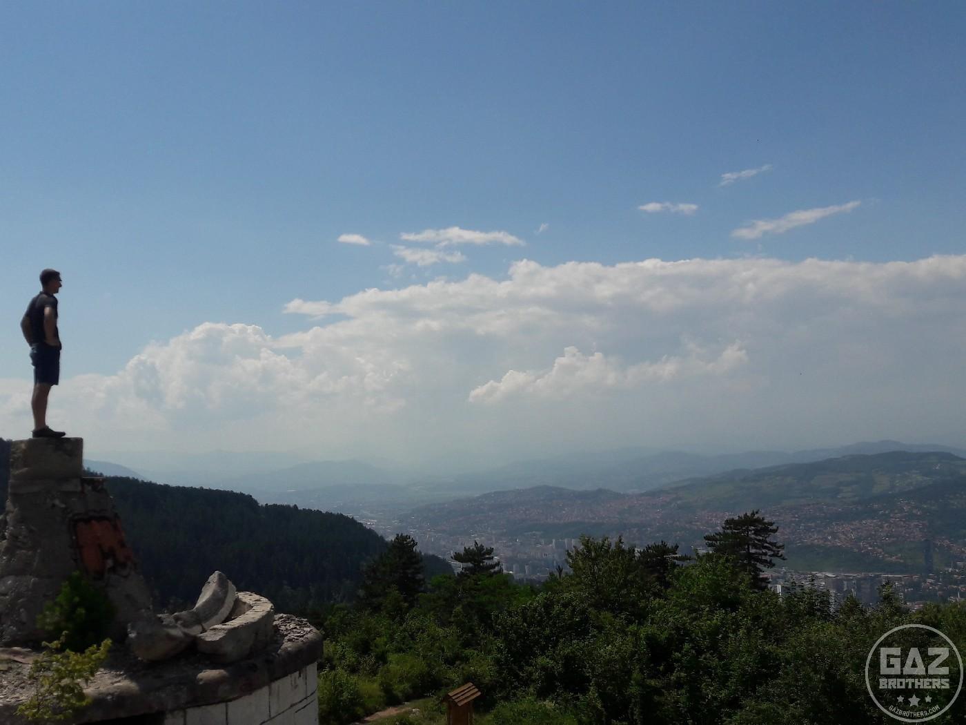 Bośnia - panorama Sarajewa